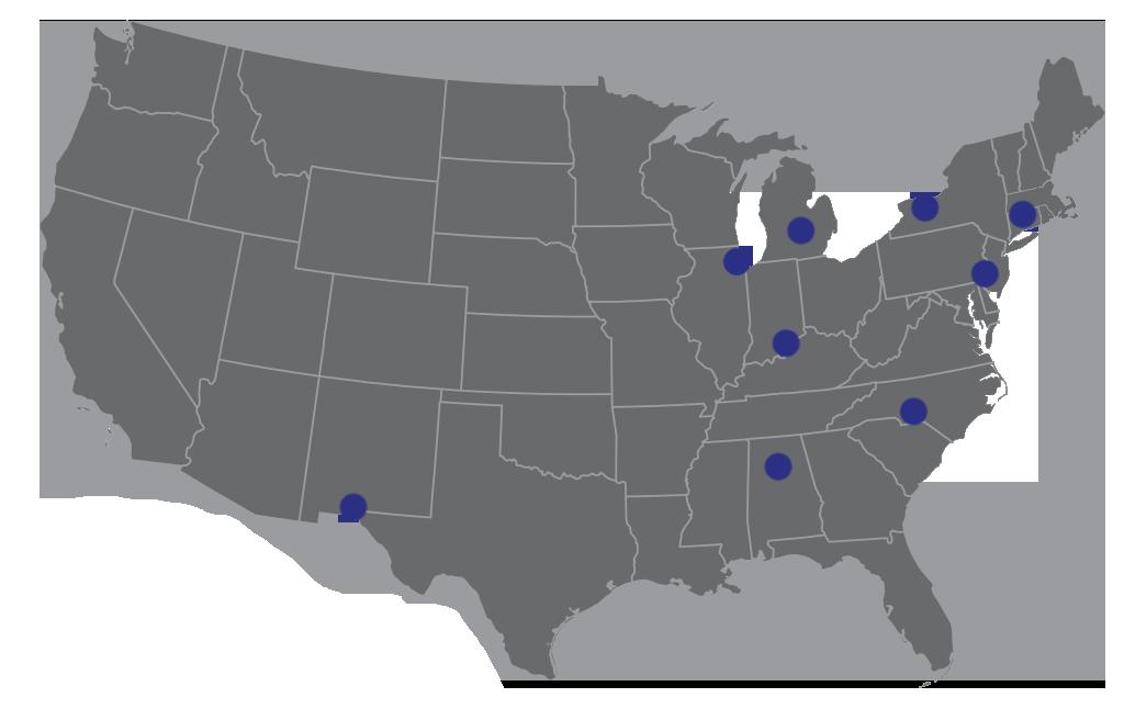 US Rep Locations