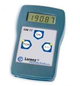 GM77, Hand Held Measuring Amplifier